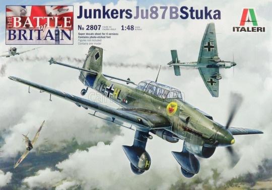 Модель Юнкерс Ju87B Stuka 1/48