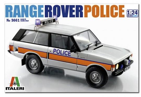 Модель Британский полицейский автомобиль Range Rover первого поколе