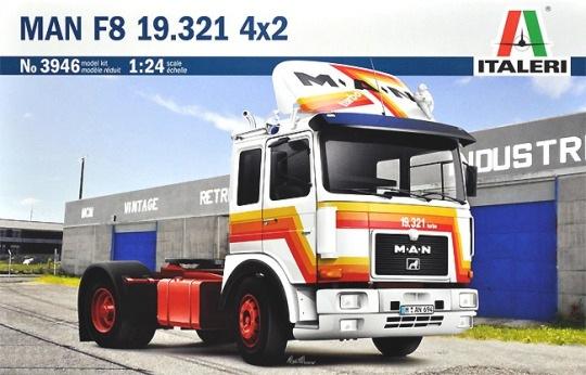 Модель грузовик MAN F8 19.321 4x2  (1:24)