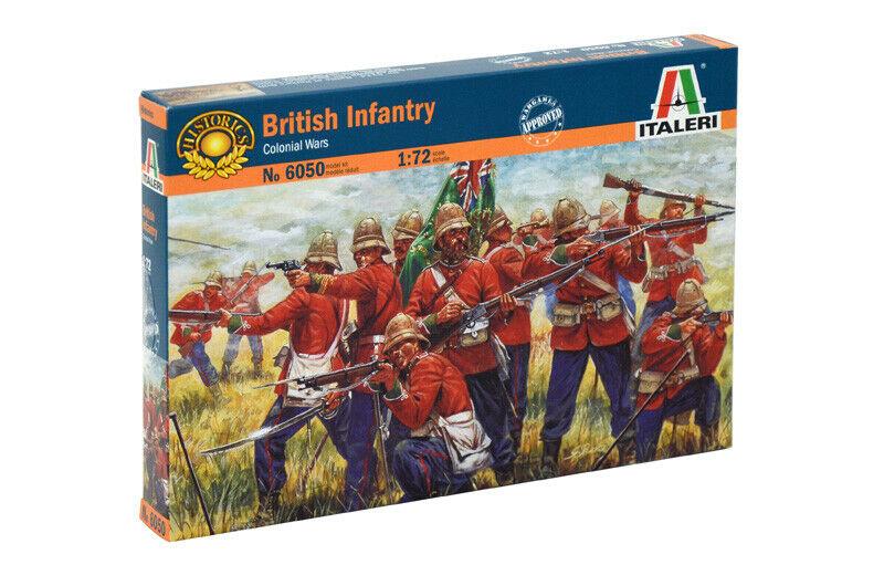 Модель Британская пехота англо-зулусская война 1879 года 1/72