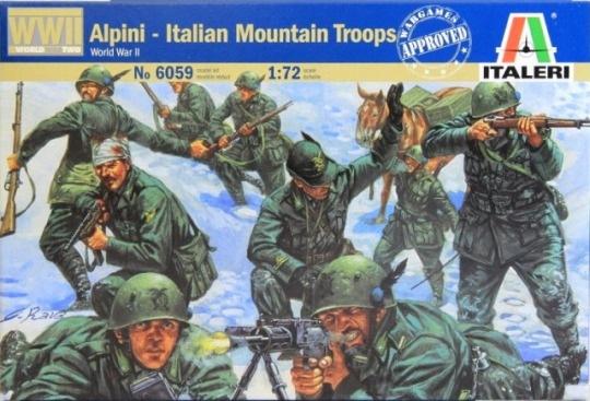 Модель Итальянские горные стрелки