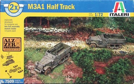 Модель Полугусеничный БТР M3A1