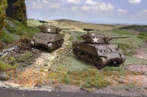 Модель танк M4A3E2
