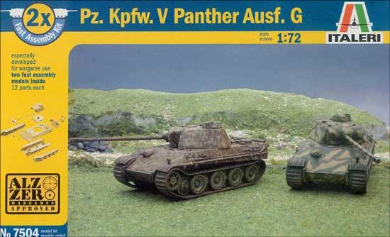 Модель Немецкий средний танк  Pz.Kpfw.V Panther Ausf.G (2 легкосбор