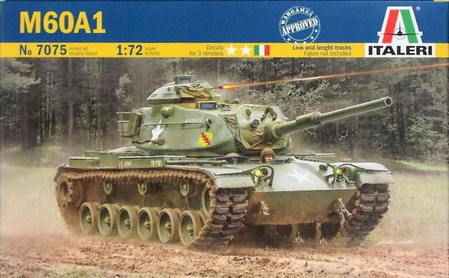 Модель американский танк M60A1   масштаб 1/72