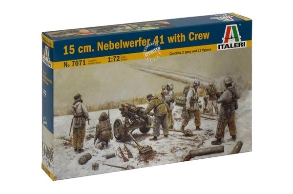 Модель Германская реактивная система залпового огня 15 cm. NEBELWER