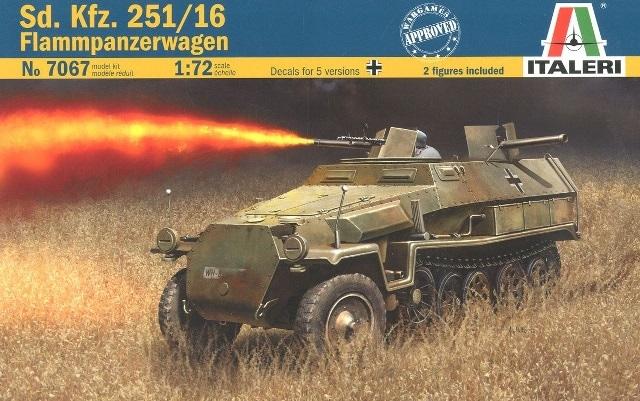 Модель Немецкий БТР с огнемётом Sd. Kfz. 251/16 Flammpanzerwagen. 1