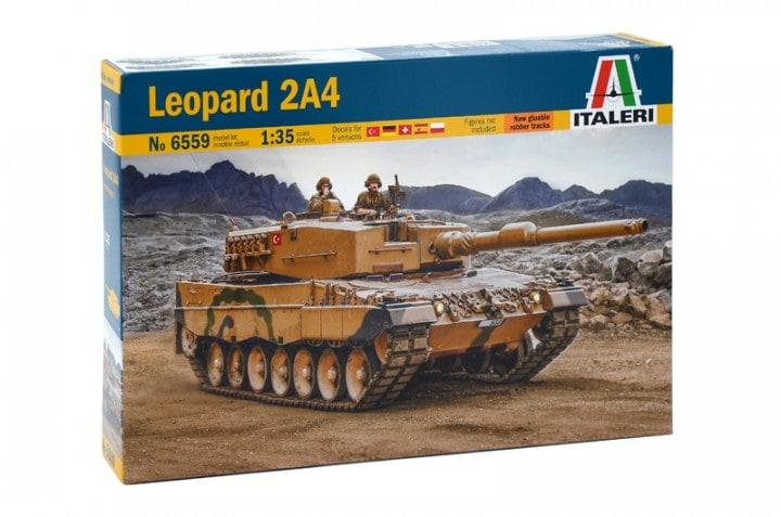 Модель Немецкий средний танк Leopard 2A4 . 1/35