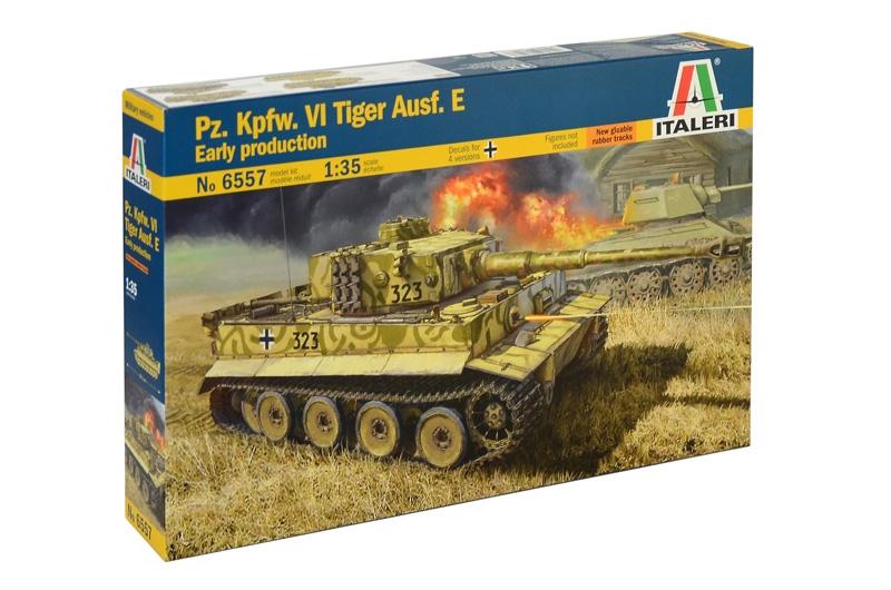 Модель Немецкий тяжелый танк Pz. Kpfw. VI Tiger Ausf. E ранней верс