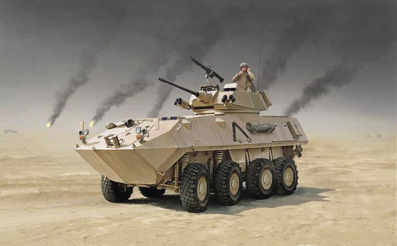 канадско-американский БТР LAV-25