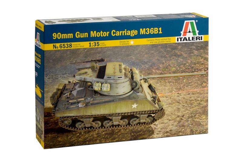 Американский танк  M36B1