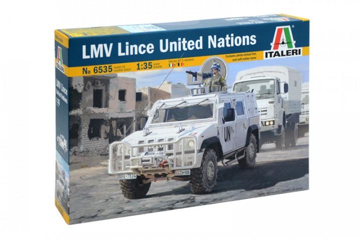 Американский бронеавтомобиль  LMV Lince U.N.  1/35