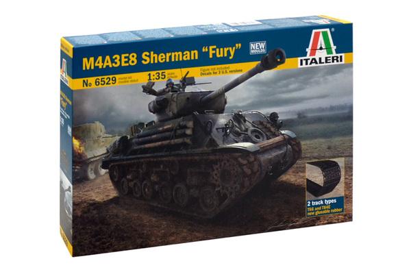 Модель Американский средний танк M4A3E8 Шерман