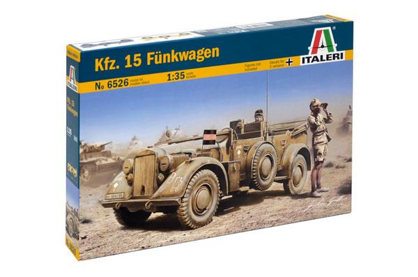 немецкий автомобиль связи Kfz.15 FUNKWAGEN