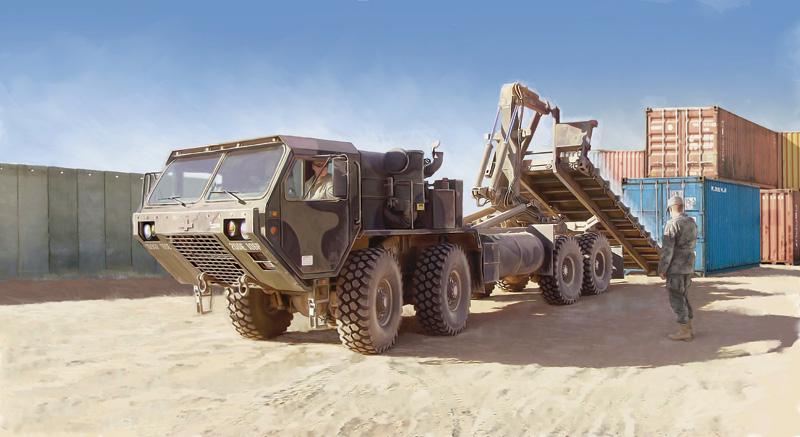 Бронетранспортёр M1120 HEMTT Load Handling System