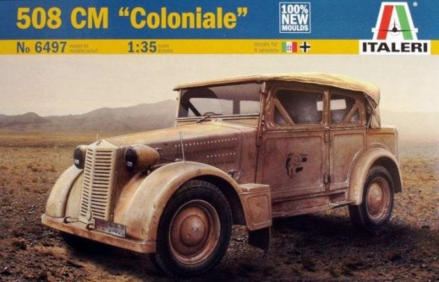 Модель Итальянский бронеавтомобиль Fiat 508CM Coloniale 1/35