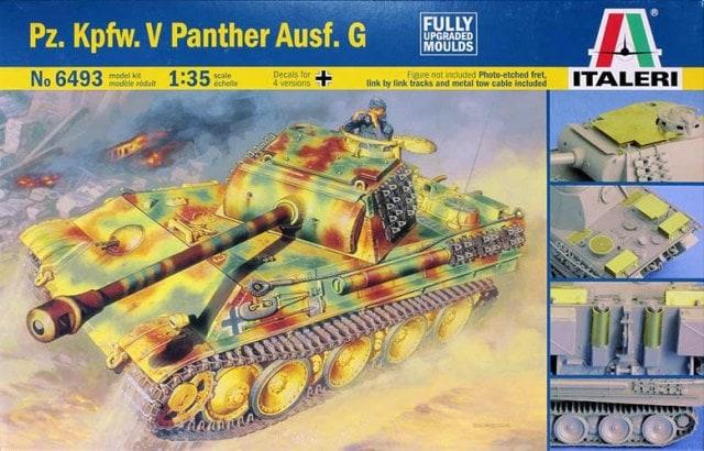 Модель Немецкий средний танк Pz.Kpfw. V Panther Ausf. G