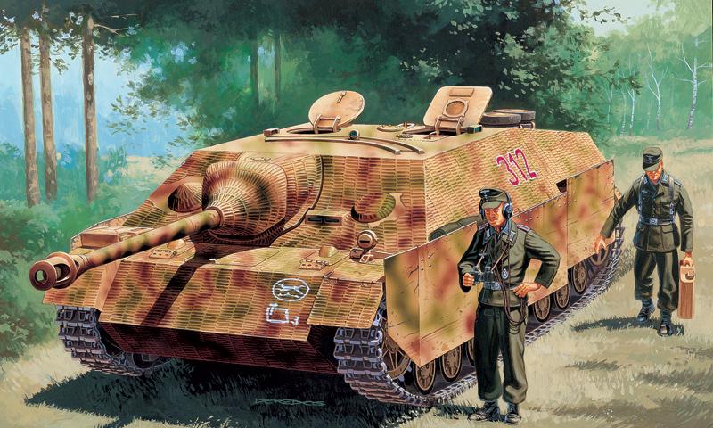 Модель Немецкое САУ  German Sd.Kfz.162 Jagdpanzer IV L/48 Ausf.F