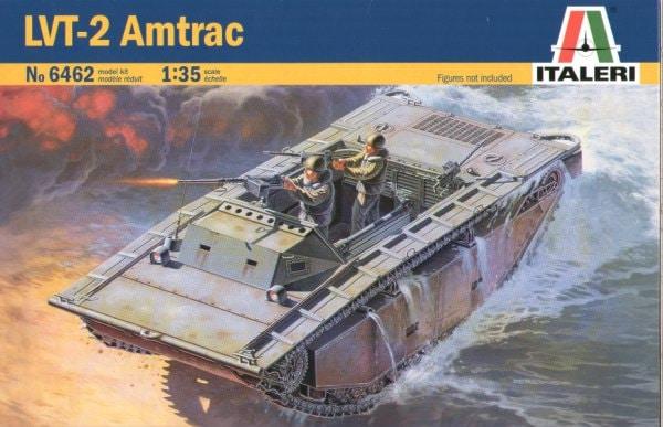 американский гусеничный амфибийный транспортёр LVT-2 Amtrac