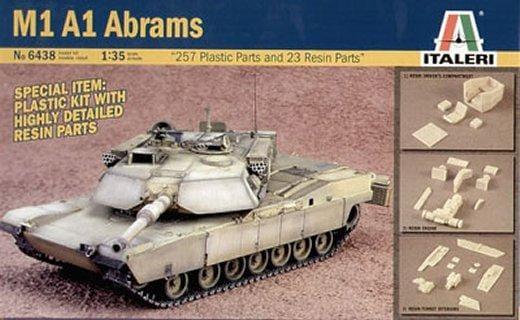 Модель Основной боевой танк США M1A1 Abrams   1/35