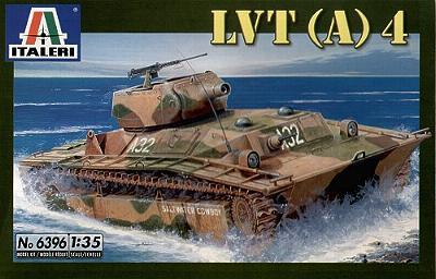 Модель танк-амфибия США LVT- (A) 4