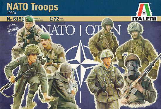 Модель Пехота НАТО 1980-х годов