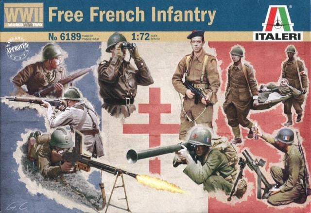 Модель пехота свободной Франции периода великой отечественной войны