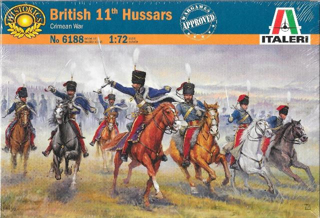 Модель Британские гусары периода крымской войны