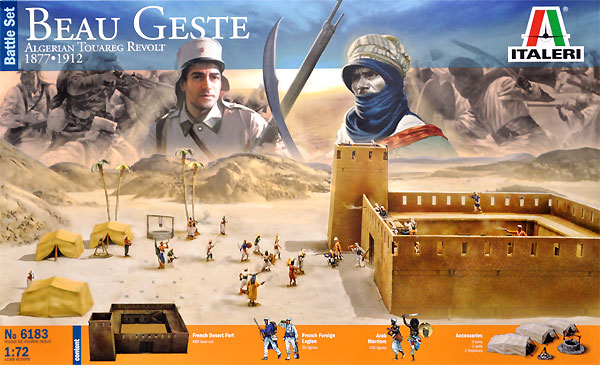 Battle Set Beau Geste Algerian Touareg Revolt 1877-1912