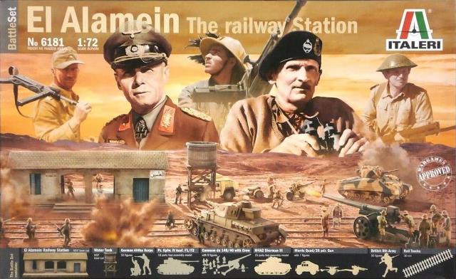 Эль-Аламейнская операция, железнодорожная станция