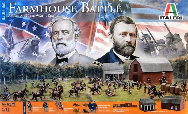 Гражданская война в США. Полевая битва 1864 г.