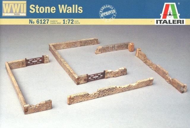 каменные стены Сборная модель