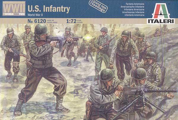 Американская пехота времён великой отчесвенной войны Сборная модель