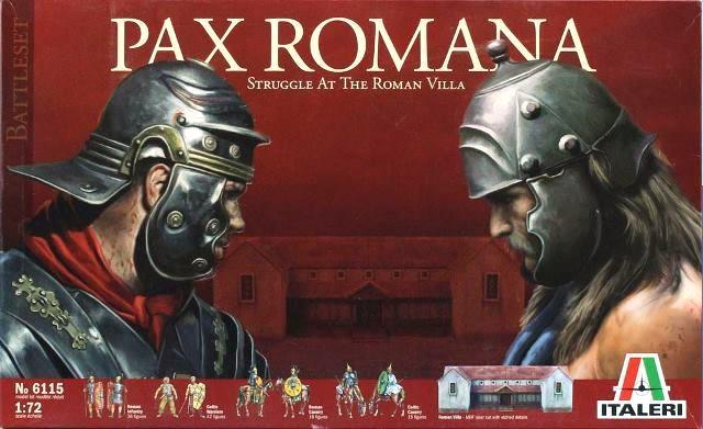 Пакс Романа. Набор по древнему Риму. Сборная модель