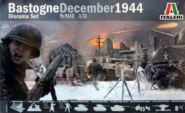 Бастонь. Декабрь 1944г. Набор для диорамы. Сборная модель