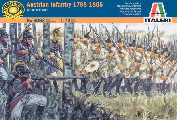 Австрийская пехота периода Наполеоновских войн Сборная модель