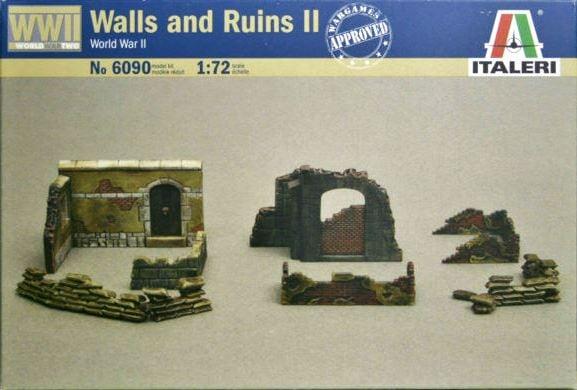 стены и руины Сборная модель