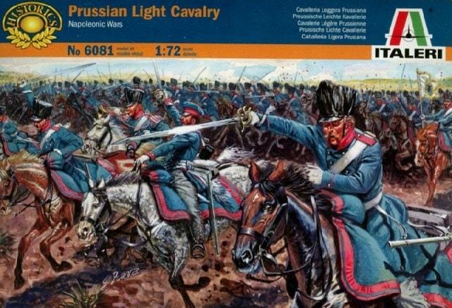 егкая прусская кавалерия периода наполеоновских войн Сборная модель