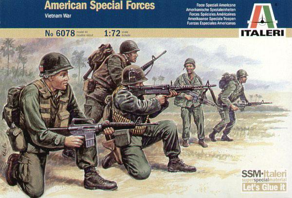 Американский спецназ во вьетнаме Сборная модель
