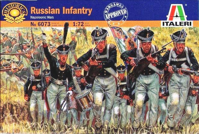 Русская пехота 1812 г. Сборная модель