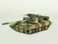 Модель - Основной боевой танк Т-80УД.