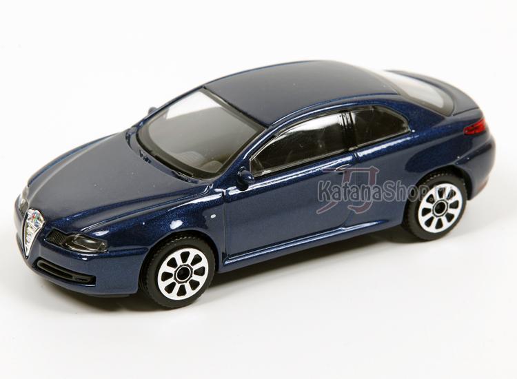 Модель-копия - Alfa GT (2003) (синий металлик).