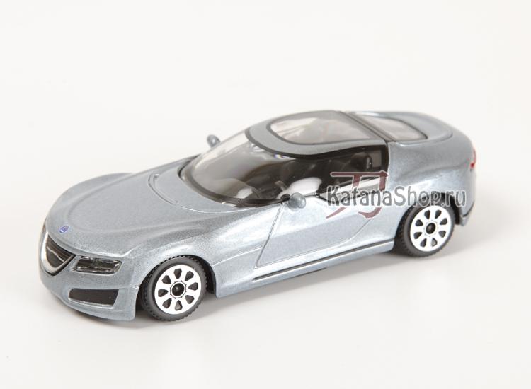 Модель Saab Aero X (серебряный металлик)