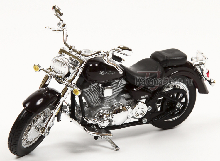 Модель-копия - YAMAHA Road Star (чёрный).