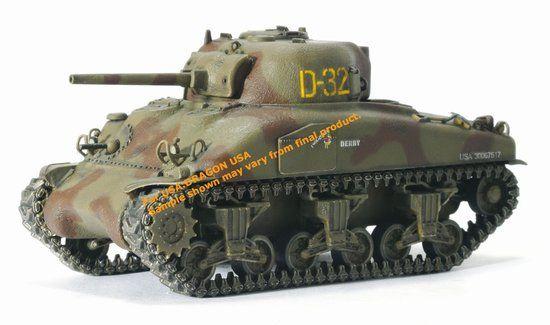 Танк в сборе M4A1 Normandy 1944