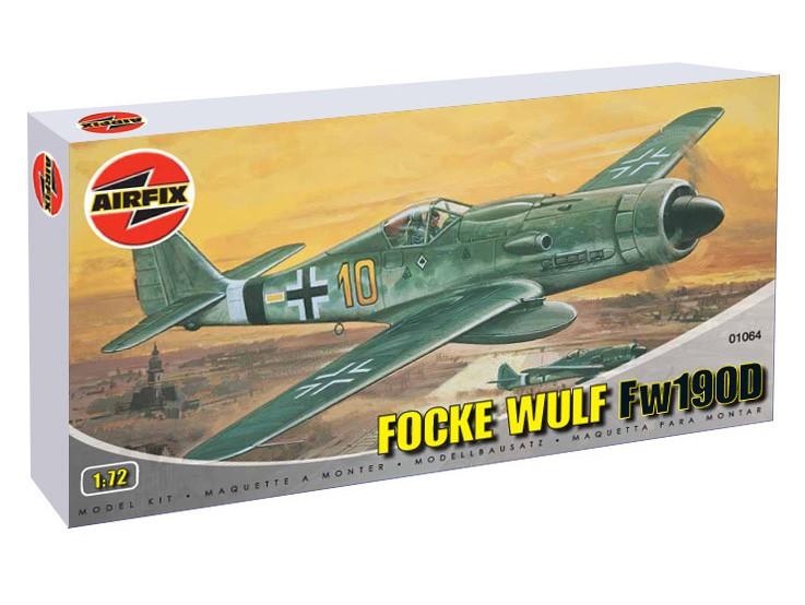 Сборная модель Focke Wulf 190D - Фокке Вульф 190 Д