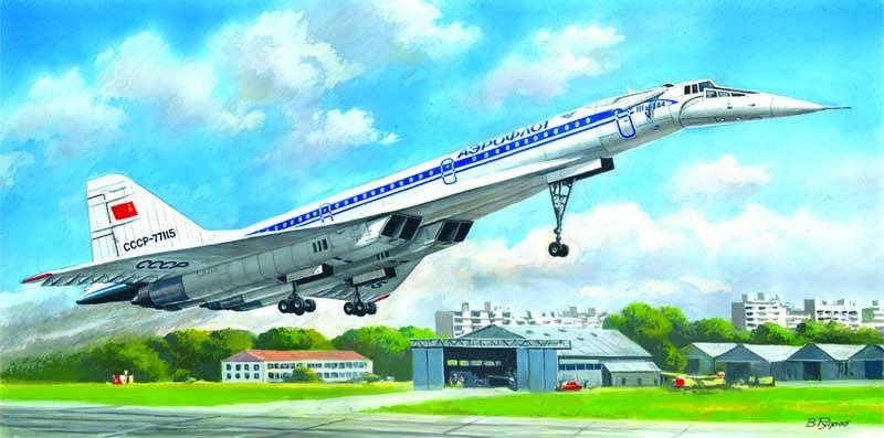 Сборная модель Ту-144Д, Ту 144Д