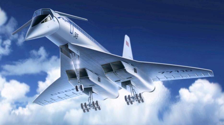 Сборная модель Ту-144, Ту 144