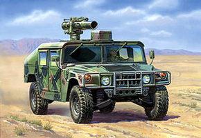 Сборная модель Американский противотанковый комплекс ТОУ на вездеходе