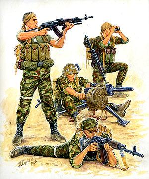 Сборная модель Российский спецназ-2.